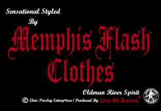 �G�����B�X�E�v���X���[���c���F�t�@�b�V�����u�����h MEMPHIS FLASH CLOTHES