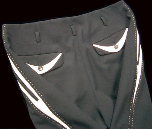 Pistol Pants/50s/rockabilly/rock'n'roll/clothing/ THE-KING