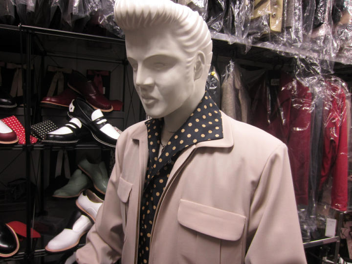elvis clothing